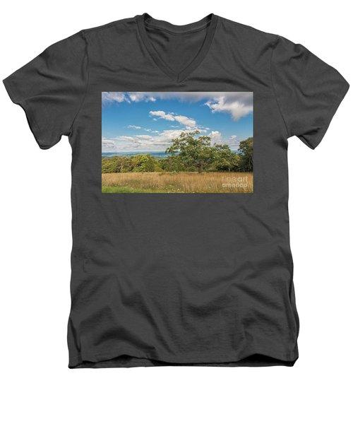 Hilltop Tree Men's V-Neck T-Shirt