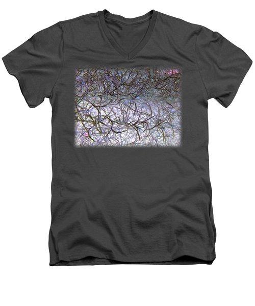 Hint Of Colour Men's V-Neck T-Shirt
