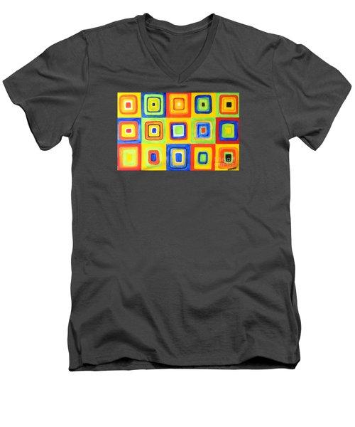 Hip To Be Square Men's V-Neck T-Shirt