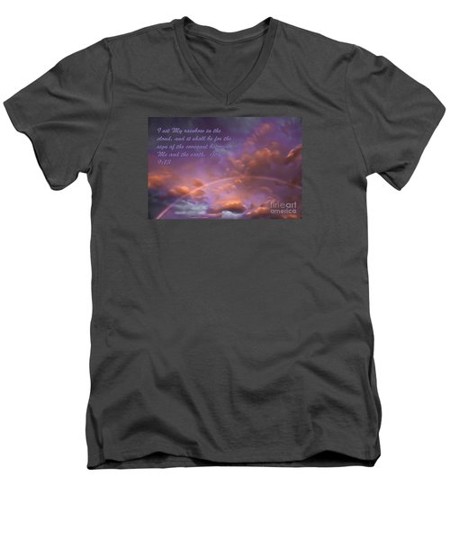His Promise Men's V-Neck T-Shirt