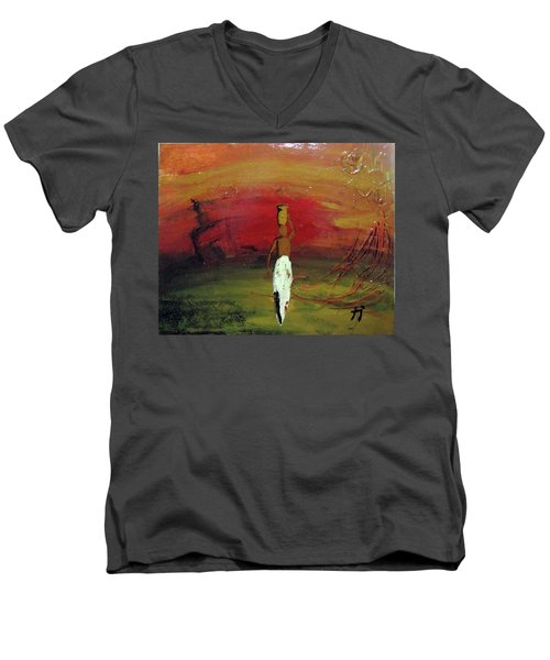 Historias Men's V-Neck T-Shirt
