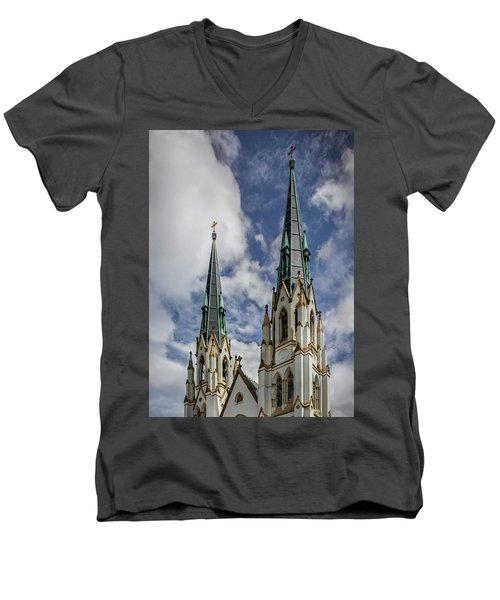 Historic Architecture Men's V-Neck T-Shirt