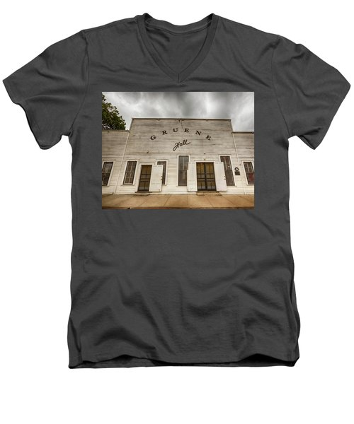 Historic Gruene Hall Men's V-Neck T-Shirt