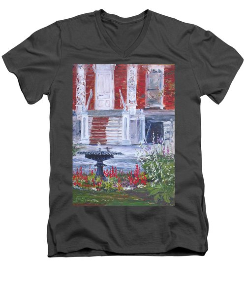 Historical Society Garden Men's V-Neck T-Shirt
