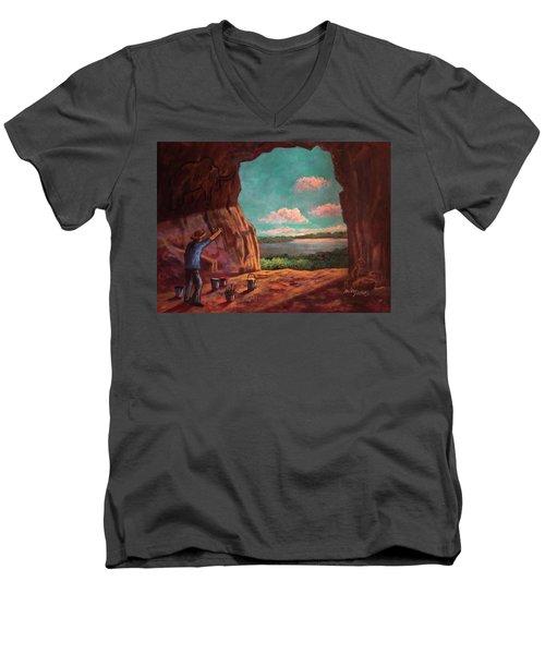 History Of Art Men's V-Neck T-Shirt