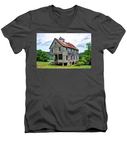 Hiwassee Union Baptist Church Men's V-Neck T-Shirt