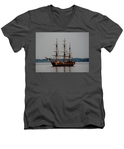 Hms Bounty  Men's V-Neck T-Shirt