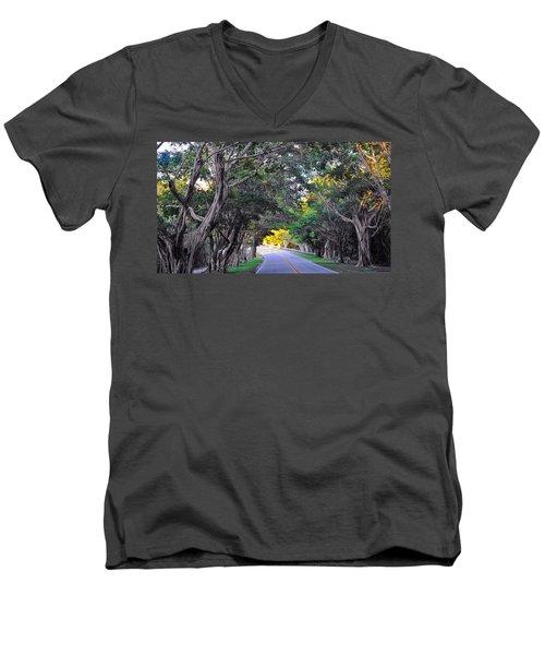 Hobe Sound, Fla Men's V-Neck T-Shirt