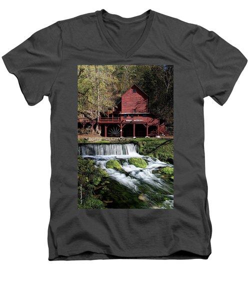 Hodgeston Mill Men's V-Neck T-Shirt