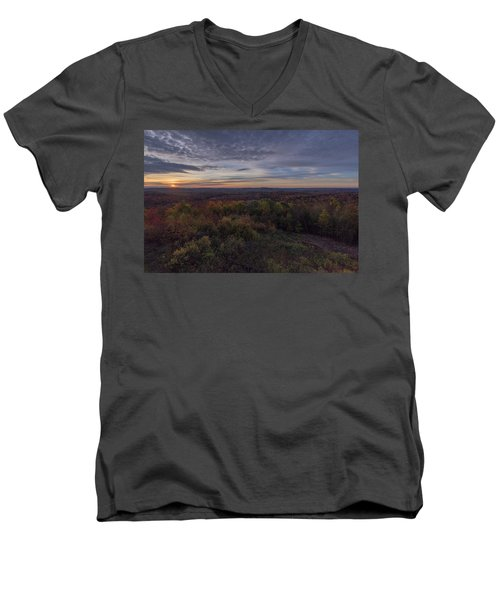 Hogback Morning Men's V-Neck T-Shirt