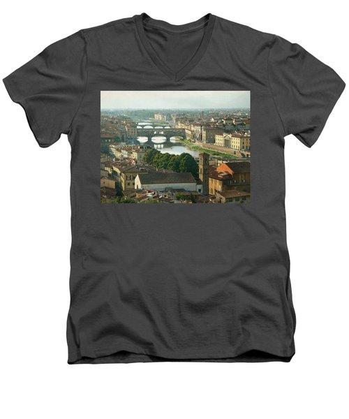 Holding On To Your Love Men's V-Neck T-Shirt