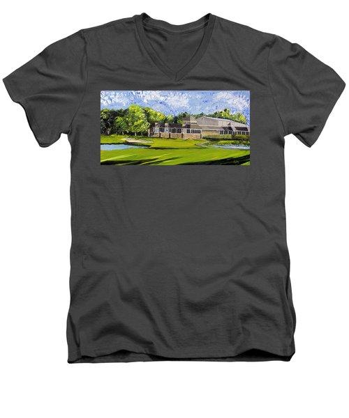 Hole 18 Jcc Men's V-Neck T-Shirt