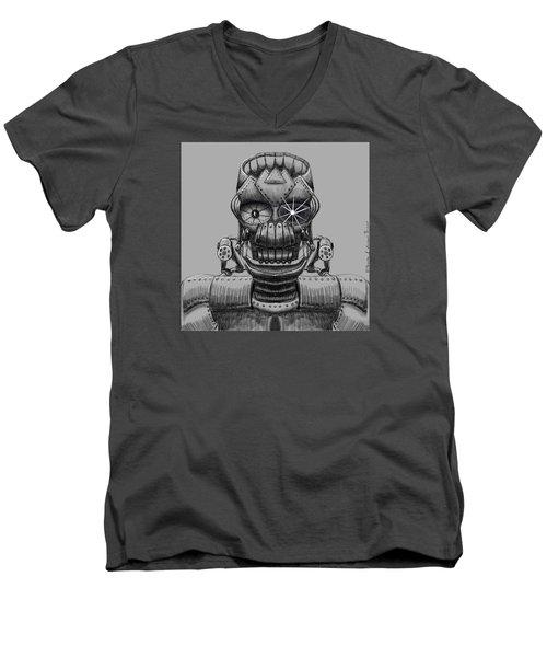 Hole Machine. Men's V-Neck T-Shirt