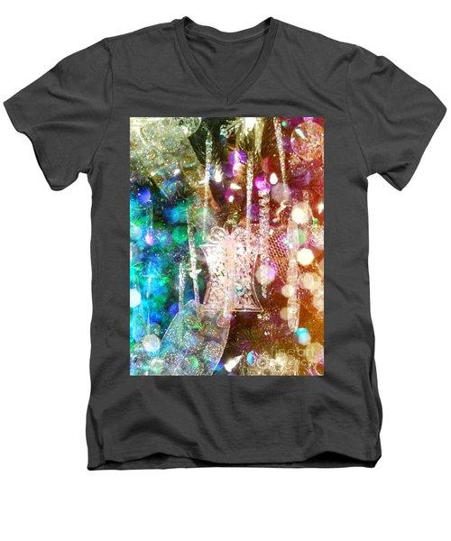 Holiday Fantasy Men's V-Neck T-Shirt