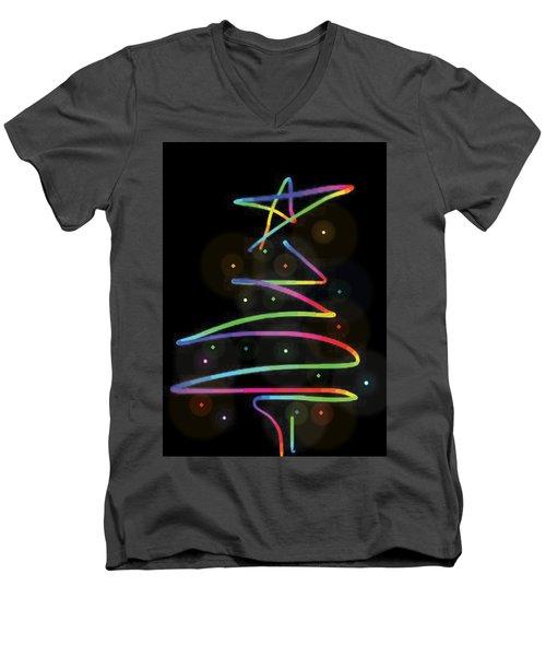 Holiday Fun Men's V-Neck T-Shirt