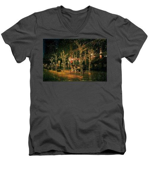 Holiday Handsome Cab Men's V-Neck T-Shirt