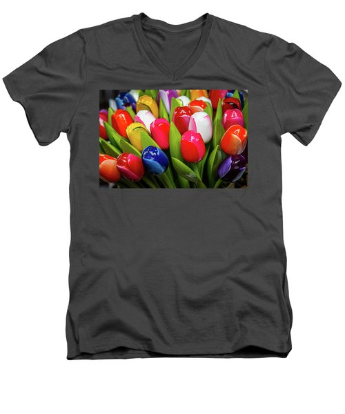 Holland Souvenir Men's V-Neck T-Shirt
