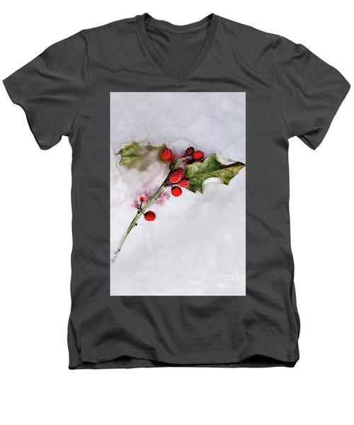 Holly 4 Men's V-Neck T-Shirt