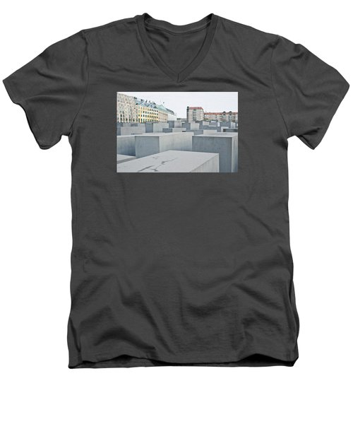 Holocaust Memorial Men's V-Neck T-Shirt