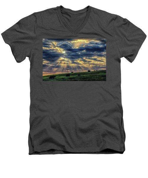 Holy Cow Men's V-Neck T-Shirt