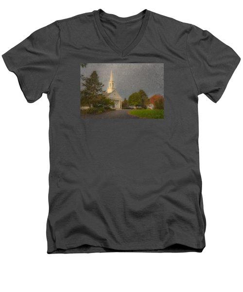 Holy Cross Parish Church Men's V-Neck T-Shirt