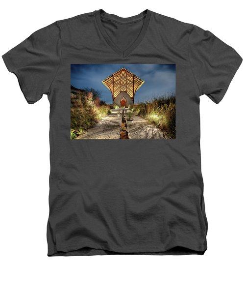 Holy Family Shrine Men's V-Neck T-Shirt