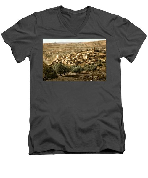 Holy Land - Bethany  Men's V-Neck T-Shirt