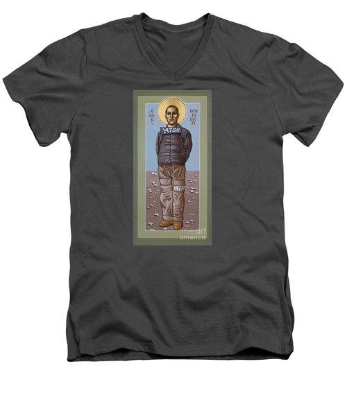 Holy Prophet Benjamin Salmon 083 Men's V-Neck T-Shirt