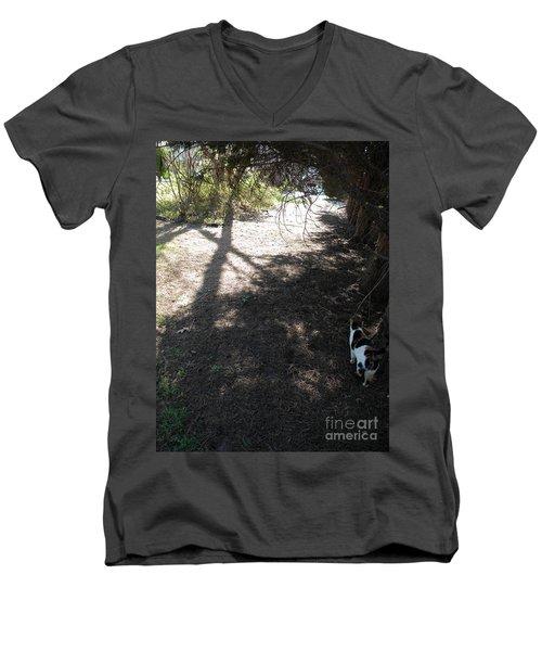 Holy Spirit Morning Men's V-Neck T-Shirt