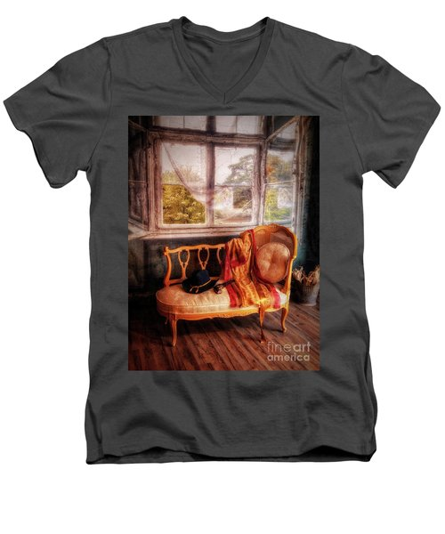 Home  At Last ... Men's V-Neck T-Shirt