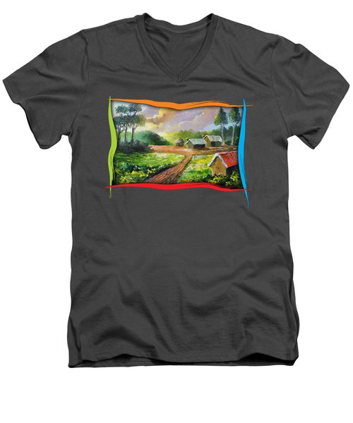 Home In My Dreams Men's V-Neck T-Shirt