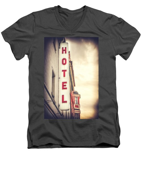 Home Is Home Men's V-Neck T-Shirt