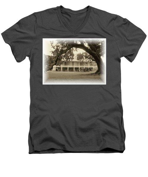 Home Place Impressions Men's V-Neck T-Shirt