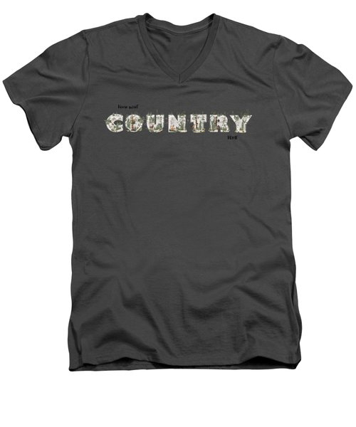 Home Sweet Country Home Men's V-Neck T-Shirt
