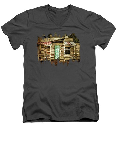 Home Sweet Home Men's V-Neck T-Shirt by Thom Zehrfeld