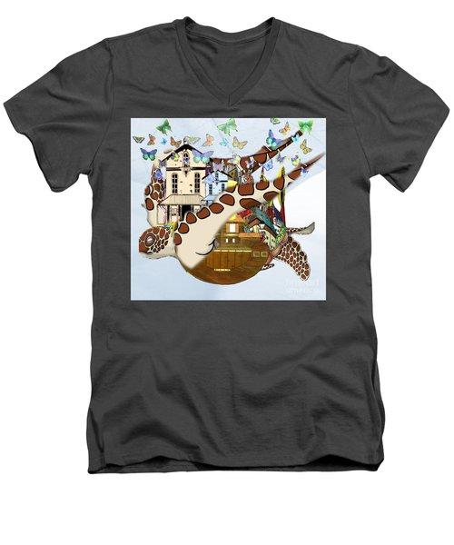 Home Within Home Men's V-Neck T-Shirt