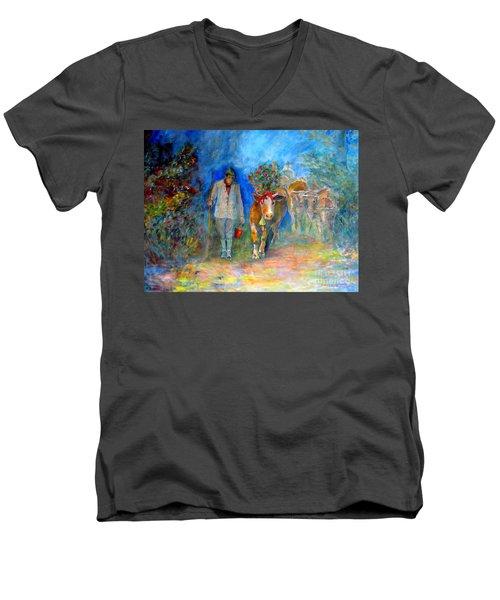 Homeland Museum Men's V-Neck T-Shirt