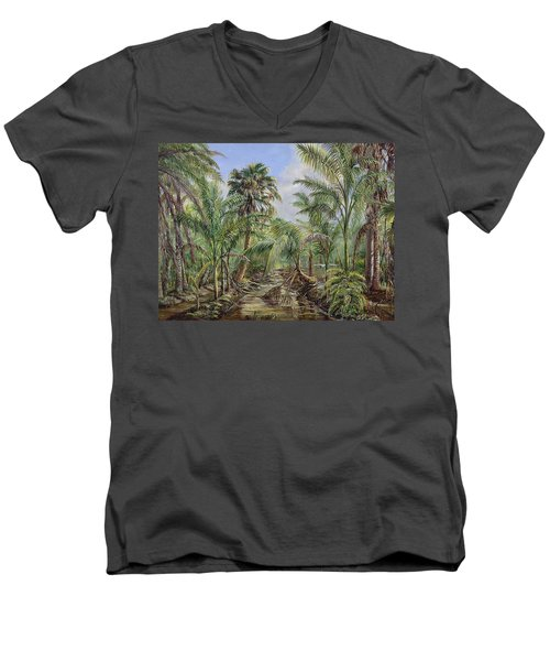 Homestead Tree Farm Men's V-Neck T-Shirt