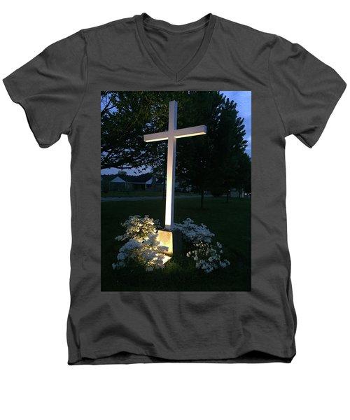 Hometown Faith Men's V-Neck T-Shirt