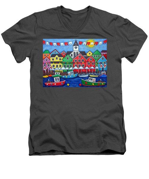 Hometown Festival Men's V-Neck T-Shirt