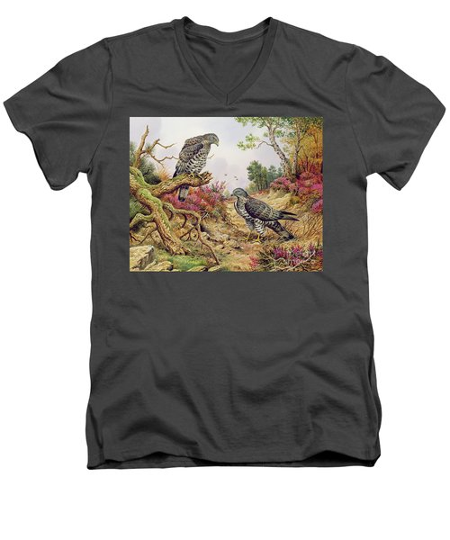 Honey Buzzards Men's V-Neck T-Shirt
