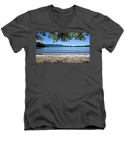 Honey Suckel Cove, Smith Mountain Lake Men's V-Neck T-Shirt