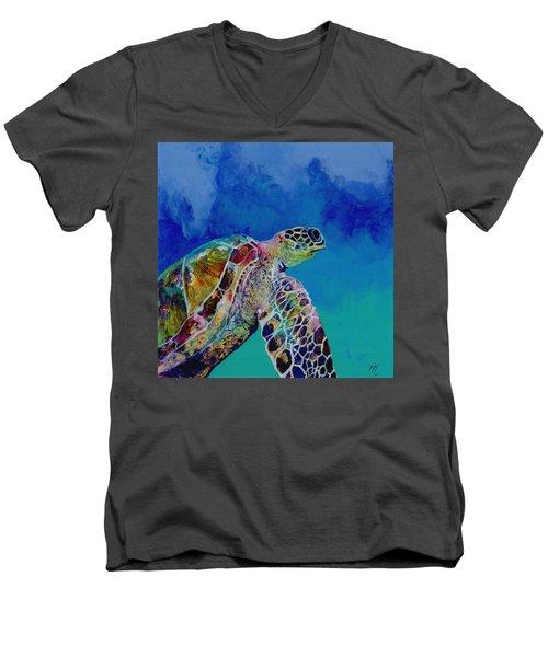 Honu 7 Men's V-Neck T-Shirt