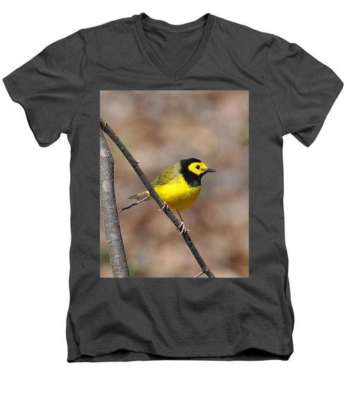 Hoodie Men's V-Neck T-Shirt