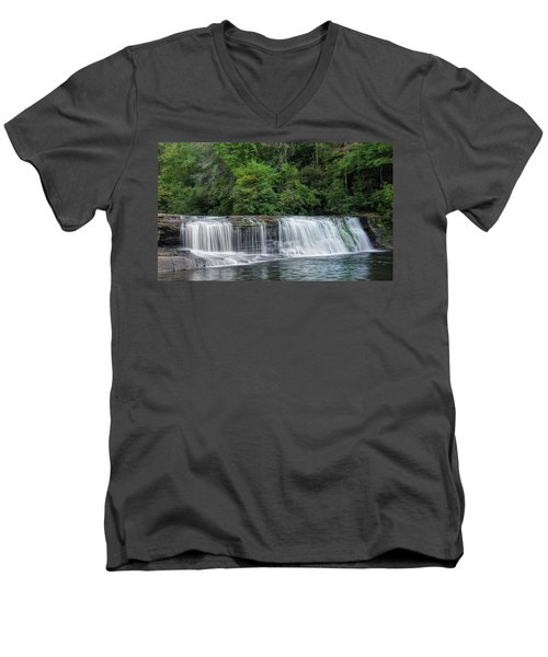 Hooker Falls Men's V-Neck T-Shirt
