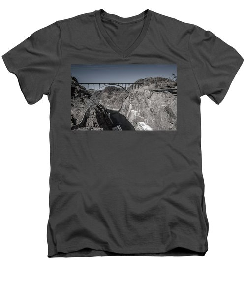 Hoover Dam Bridge Men's V-Neck T-Shirt