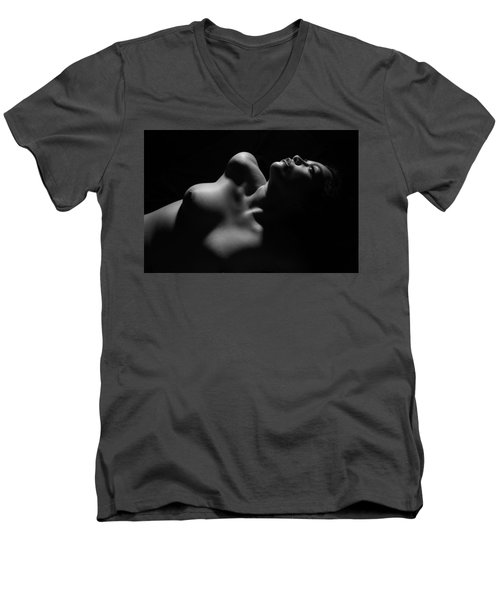 Men's V-Neck T-Shirt featuring the photograph Hope by Joe Kozlowski