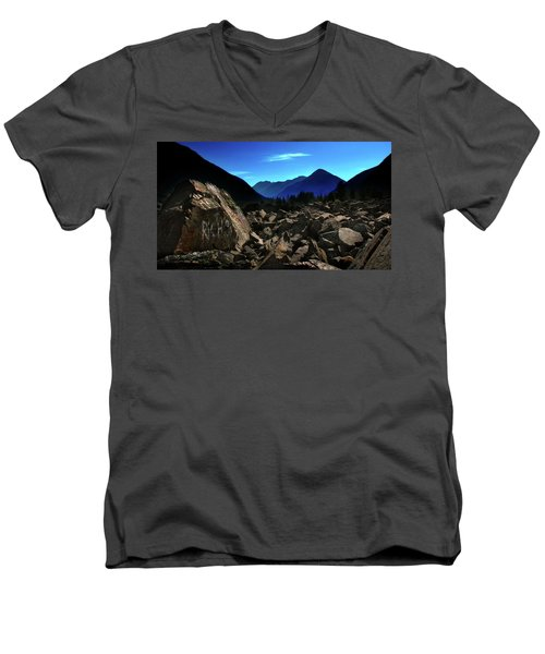 Men's V-Neck T-Shirt featuring the photograph Hope by John Poon
