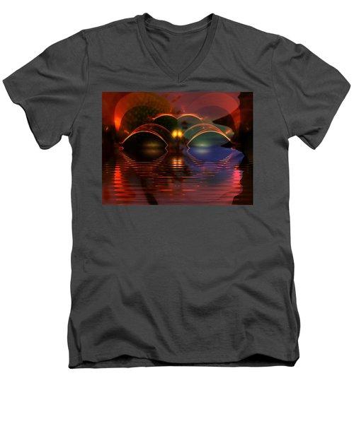 Horizens Men's V-Neck T-Shirt