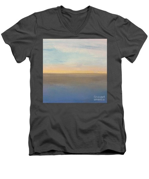 Horizon Aglow Men's V-Neck T-Shirt
